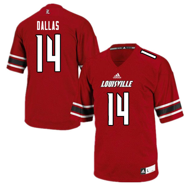 Men #14 Marvin Dallas Louisville Cardinals College Football Jerseys Sale-White